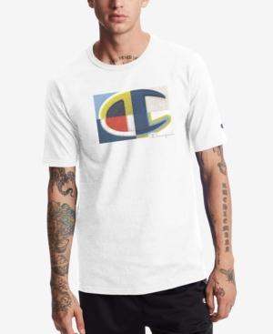 Champion Men's Heritage Patchwork Logo Graphic T-Shirt