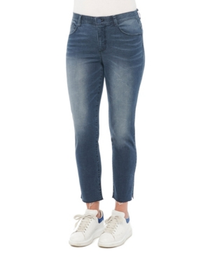 """Women's """"Ab"""" Solution Slim Straight with Pulled String Hem Jeans"""