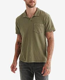 Men's Johnny Collar Polo Shirt