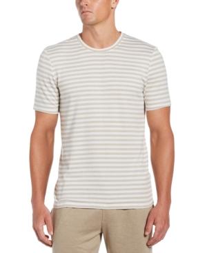 Men's Striped Knit Short-Sleeve Shirt