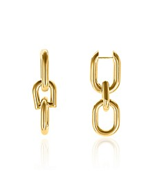 Women's Kano 18K Gold Plated Brass Earrings