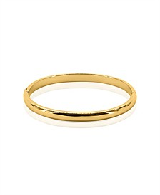 Women's Lola 18K Gold Plated Brass Bangle