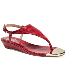 Women's Tinley Hooded Wedge Sandals, Created for Macy's