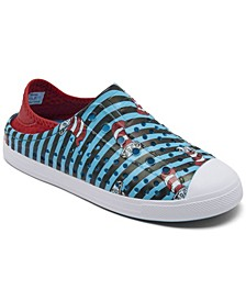 Little Boys Dr. Seuss Guzman Steps - Hide and Stripes Casual Sneakers from Finish Line