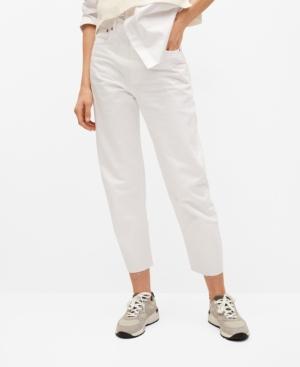 High-Waist Balloon Jeans