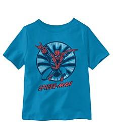 Little Boys Amazing Spiderman T-Shirt