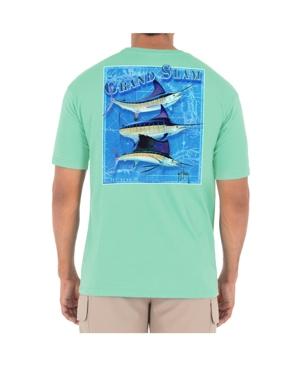 Men's Billfish Grand Slam Short Sleeve Pocket Crew Neck T-Shirt