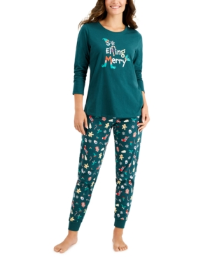 Women's Elfing Merry Pajama Set