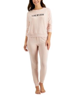 Women's Crew Love Pajama Set