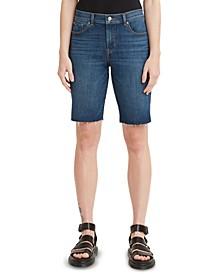 Women's Denim Bermuda Shorts