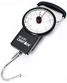 Mechanical Luggage Scale with Tape Measure