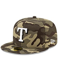 Texas Rangers Kids 2021 Armed Forces Day 59FIFTY Cap