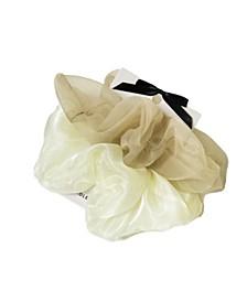 Lucy 2-Pk. Cream Oversized Scrunchies