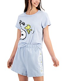 Cotton Snoopy Graphic T-Shirt