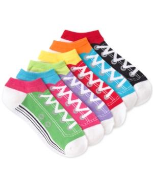 Women's Sneaker Design 6pk Ankle Socks