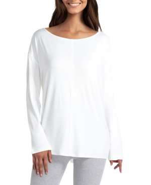 Women's Long Sleeve Boat Neck Pullover