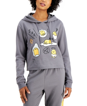 Juniors' Sanrio Gudetama Fleece Hoodie
