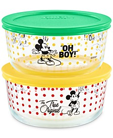 Disney Mickey Mouse 4-Pc. Food Storage Container Set