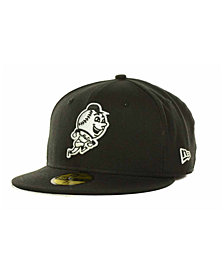 New Era New York Mets MLB Black and White Fashion 59FIFTY Cap
