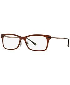 RB7039 Unisex Rectangle Eyeglasses