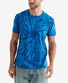 Men's Tie Dye Crew Short Sleeves T-shirt