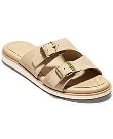 Women's Megan Buckle Slide Sandals