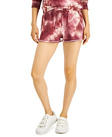 Juniors' Tie-Dye Lounge Shorts