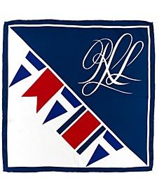 Women's Anna Small Logo Square Scarf