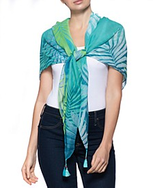 Tropical Ombré Square Scarf, Created for Macy's