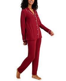 Women's Ultra-Soft Printed Pajama Set, Created for Macy's
