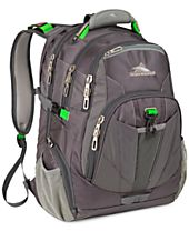 High Sierra XBT Checkpoint Friendly Laptop Backpack in Gray