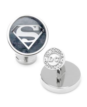 Men's Superman Gemstone Cufflinks