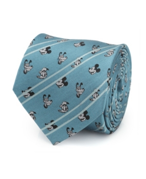 Men's Mickey and Friends Striped Tie
