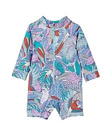 Baby Boys Cameron Long Sleeve Swimsuit