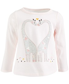 Toddler Girls Giraffe Cotton Top, Created for Macy's