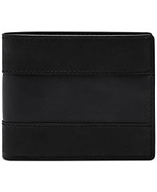Men's Everett Bifold Flip ID Wallet