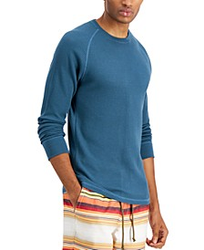 Men's Remix Thermal Waffle-Knit T-Shirt, Created for Macy's
