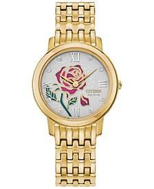 Eco-Drive Women's Belle Gold-Tone Stainless Steel Bracelet Watch 30mm