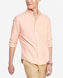 Men's Custom-Fit Prescott Textured Shirt