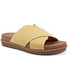 Women's Sieko Crisscross Footbed Sandals