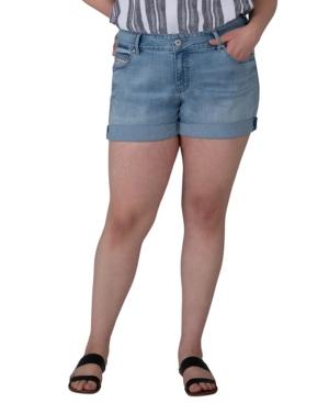 Plus Size Alex Boyfriend Jean Shorts