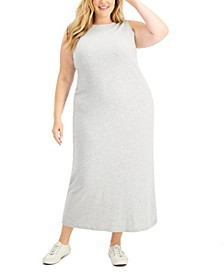 Plus Size Cotton Maxi Dress, Created for Macy's