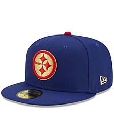 Pittsburgh Steelers Americana 59FIFTY Cap