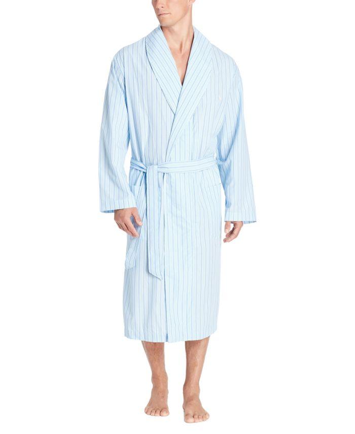 Polo Ralph Lauren Men's Woven Robe & Reviews - Pajamas & Robes - Men - Macy's
