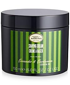 The Coriander and Cardamom Shaving Cream, 5-oz.