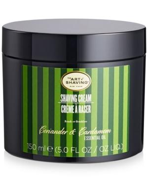 Coriander and Cardamom Shaving Cream