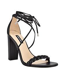Women's Monikka Ankle Wrap Heeled Sandals