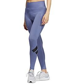 Women's Mesh-Detail Full Length Leggings
