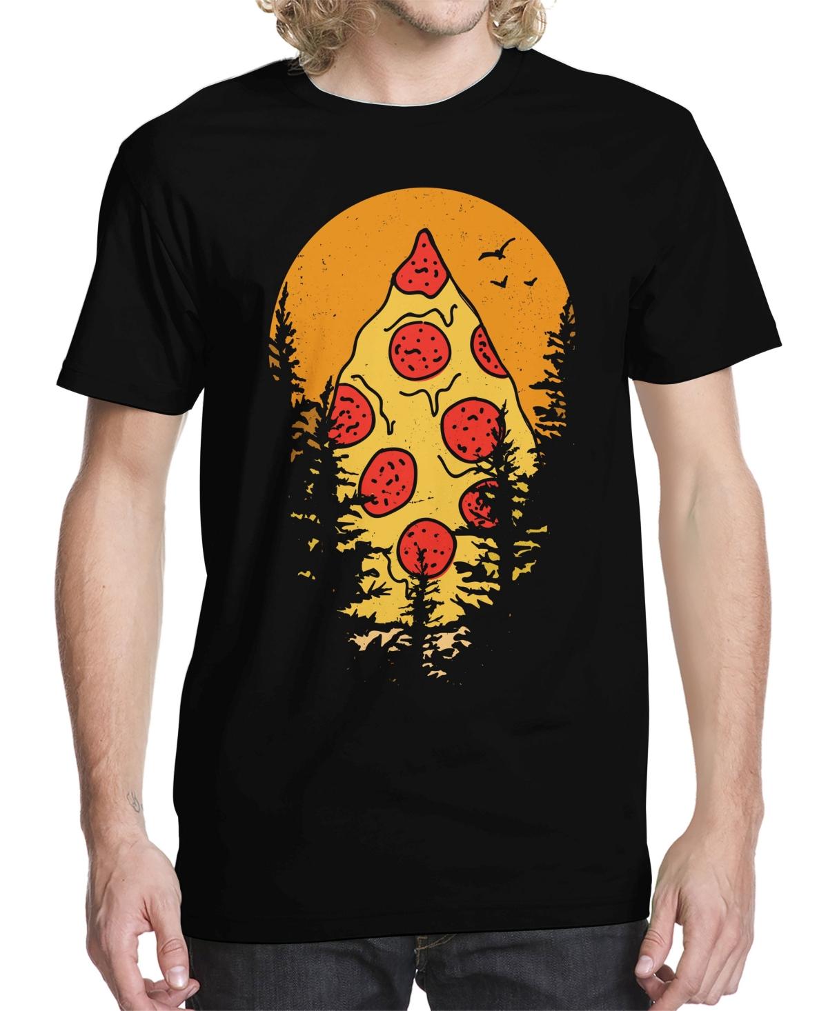 Men's Mount Pizza Graphic T-shirt