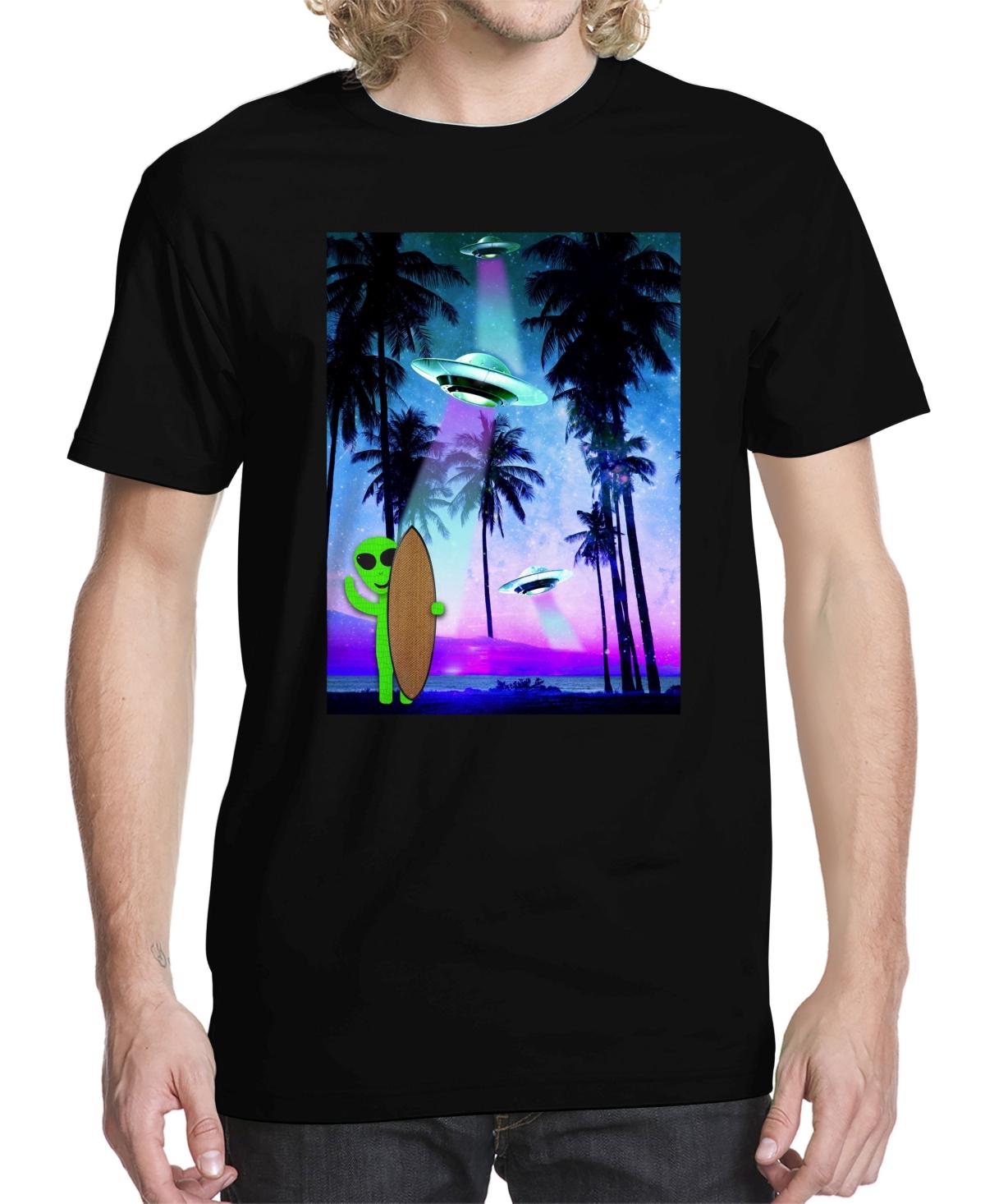 Men's Tropical Space Graphic T-shirt